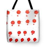 Blood Droplet Tote Bag