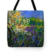 Blue Cornflowers  Tote Bag