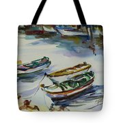 3 Boats I Tote Bag