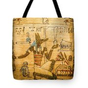 Book Of The Dead Tote Bag