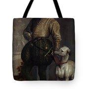 Boy With A Greyhound Tote Bag