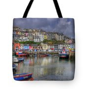 Brixham Harbour Tote Bag