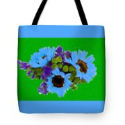 Bunch Of Pretty Flowers Tote Bag