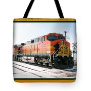Burlington Northern Santa Fe Bnsf - Railimages@aol.com Tote Bag