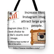 Buy Instagram Likes $1 Tote Bag