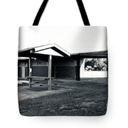 3 Bw George Washington High School Tote Bag