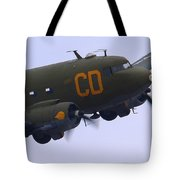 C-47 Gooney Bird At Salinas Tote Bag