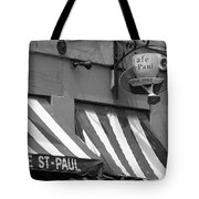 Cafe St. Paul - Montreal Tote Bag