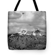 Canyon Badlands And Colorado Rockies Lanadscape Tote Bag