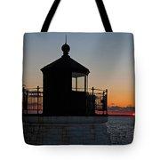 Castle Hill Light Newport Rhode Island Tote Bag