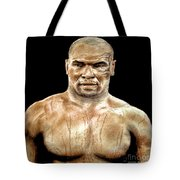 Champion Boxer And Actor Mike Tyson Tote Bag