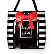 Chanel Noir Perfume Tote Bag
