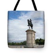 Chantilly Castle Garden In France Tote Bag