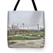 Charlotte Nc Downtown Tote Bag