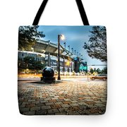 Charlotte North Carolina Street Scenes Early Morning Tote Bag
