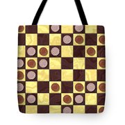 Checkerboard Generated Seamless Texture Tote Bag