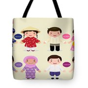 Children Of The Word Tote Bag