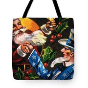 Christmas Card Tote Bag