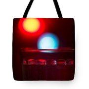 Christmas Theme Glass Of Water Tote Bag