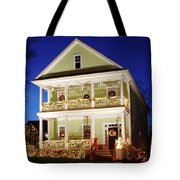 Christmas Village Tote Bag