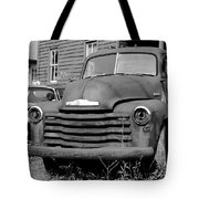 Old And Forgotten - Bw Tote Bag