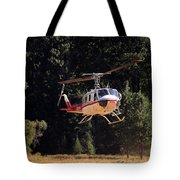 Climber Rescue Operation In Yosemite Tote Bag