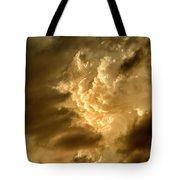 Clouds At Sunset Tote Bag