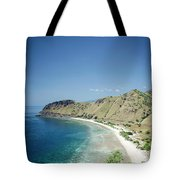 Coast And Beach View Near Dili In East Timor Leste Tote Bag