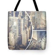 Collage Of Chicago  Tote Bag