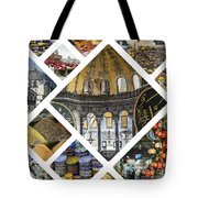 Collage Of Istanbul  Tote Bag