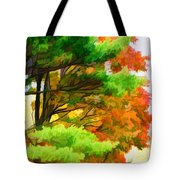 3 Colors Of The Nature 1 Tote Bag