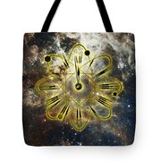 Conceptual Illustration Of Atomic Clock Tote Bag