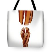 Copper Wire Strands Disconnected Tote Bag