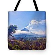 Costa Rica Volcano Tote Bag
