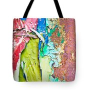 Cracked Paint Tote Bag