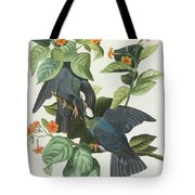 Crowned Pigeon Tote Bag