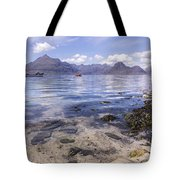 Cuillin Mountains From Elgol Tote Bag