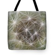 Dandelion Close-up. Tote Bag