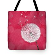Dandelion Flying Tote Bag