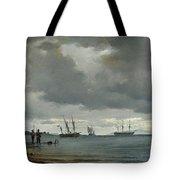Danish Seascape Tote Bag