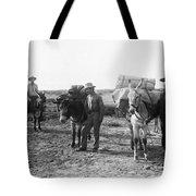 3 Desert Prospectors C. 1900 Tote Bag