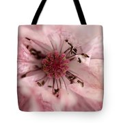 Double Dusty Rose Poppy From The Angel's Choir Mix Tote Bag