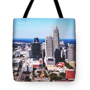 Downtown Charlotte Tote Bag