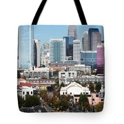 Downtown Charlotte North Carolina From The South End Tote Bag