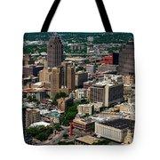 Downtown San Antonio Tote Bag