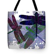 3 Dragonfly Tote Bag