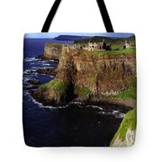Dunluce Castle, Co. Antrim, Ireland Tote Bag