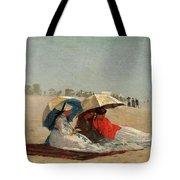 East Hampton Beach, Long Island Tote Bag