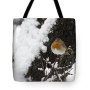 European Robin Erithacus Rubecula Tote Bag