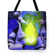 Execute Order 66 Blue Team Commander - Camille Style Tote Bag
